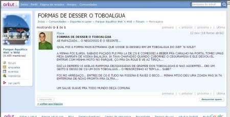 FORMAS DE DESSER O TOBOALGUA
